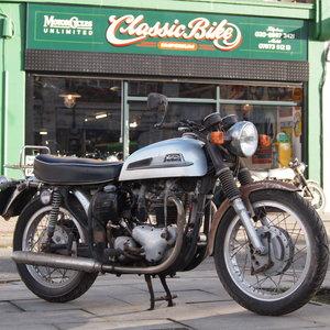 1965 Norton Atlas 750cc Project / Last Used In 2010. SOLD
