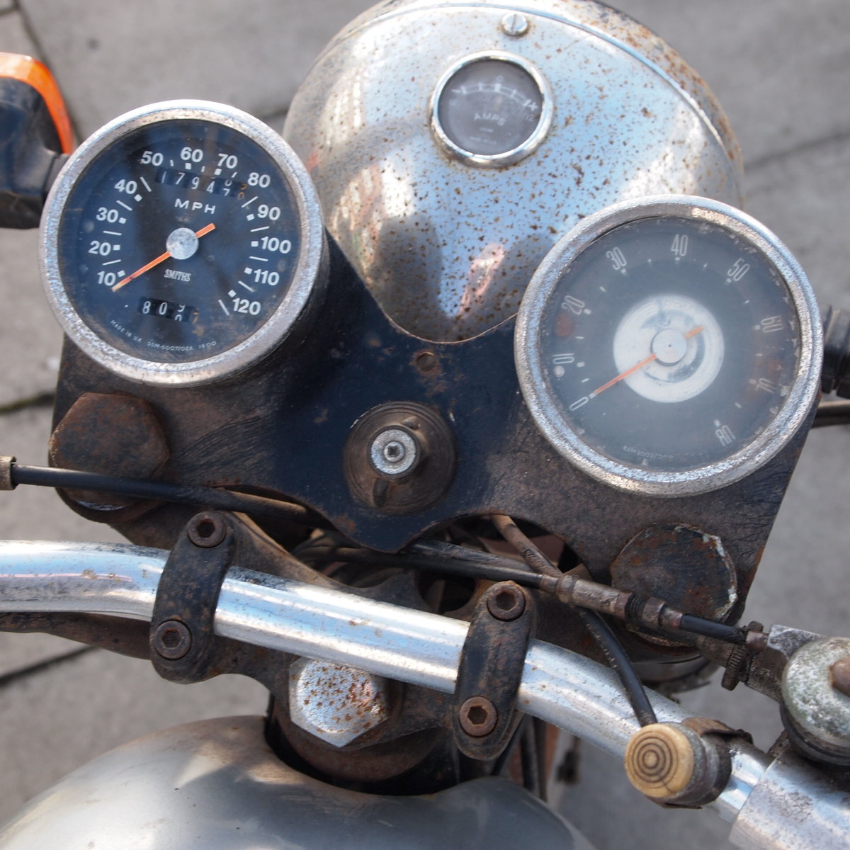 1965 Norton Atlas 750cc Project / Last Used In 2010. SOLD (picture 6 of 6)