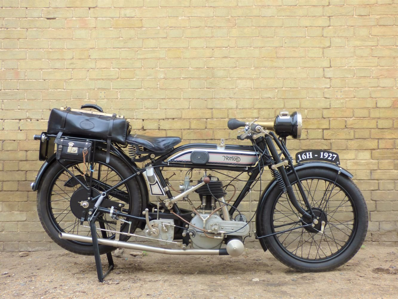 1927 Norton 16H 490cc For Sale (picture 1 of 6)