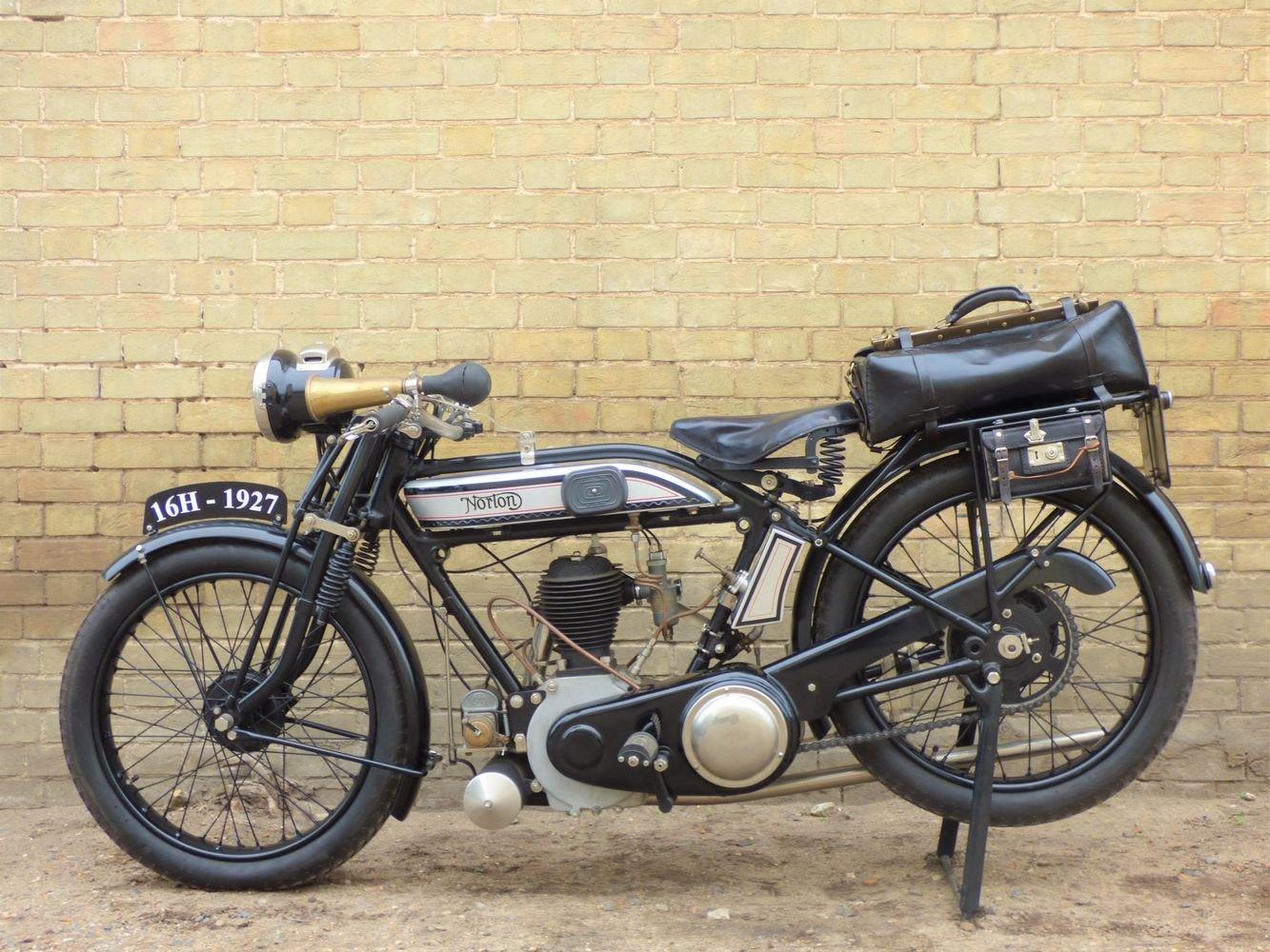1927 Norton 16H 490cc For Sale (picture 2 of 6)