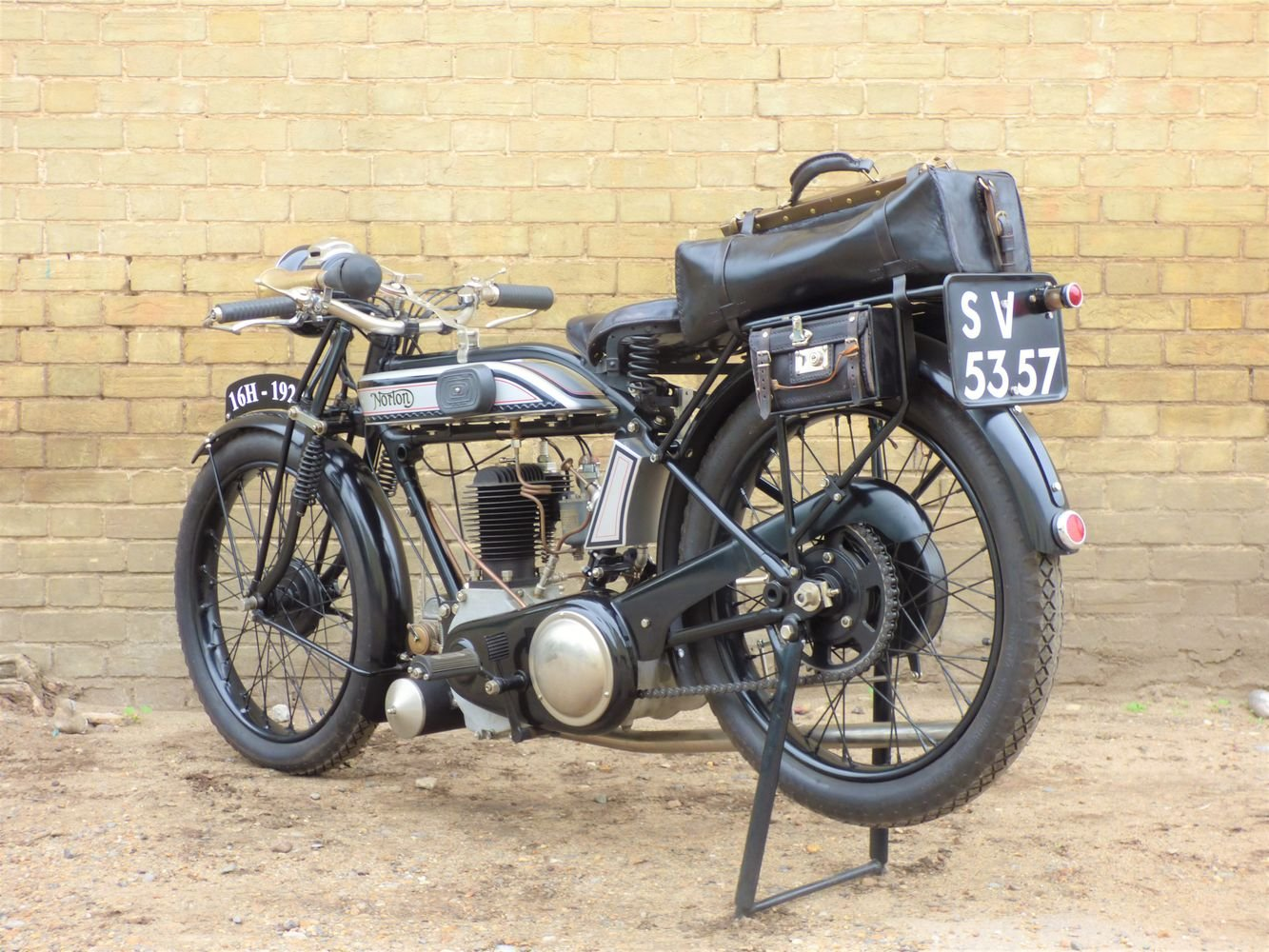 1927 Norton 16H 490cc For Sale (picture 5 of 6)