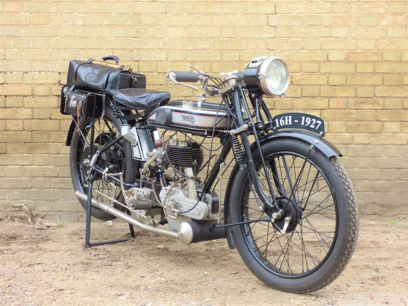 1927 Norton 16H 490cc For Sale (picture 6 of 6)