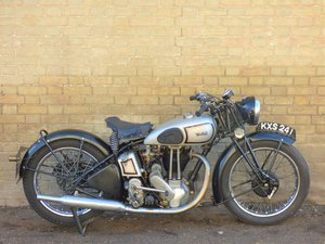1939 Norton Model 18 500cc SOLD