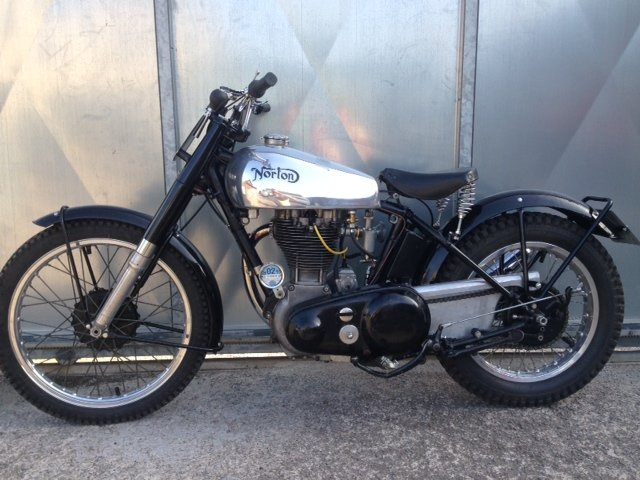 1951 NORTON 500T 500 T TRIALS TRAIL VERY RARE BIKE £18995 OFFERS  For Sale (picture 2 of 5)