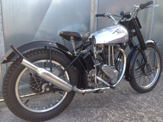 1951 NORTON 500T 500 T TRIALS TRAIL VERY RARE BIKE £18995 OFFERS  For Sale (picture 3 of 5)