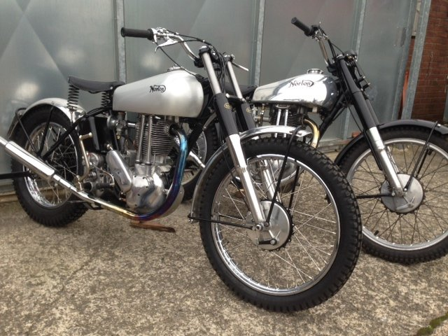 1951 NORTON 500T 500 T TRIALS TRAIL VERY RARE BIKE £18995 OFFERS  For Sale (picture 4 of 5)