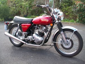 1972 norton commando roadster. For Sale