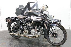 Norton Big Four Combination 1925 633cc 1 cyl sv