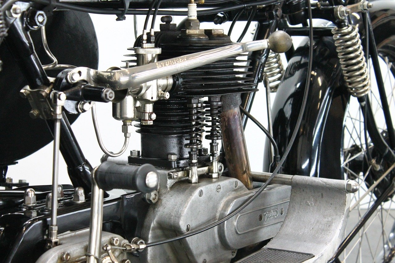 Norton Big Four Combination 1925 633cc 1 cyl sv For Sale (picture 5 of 6)