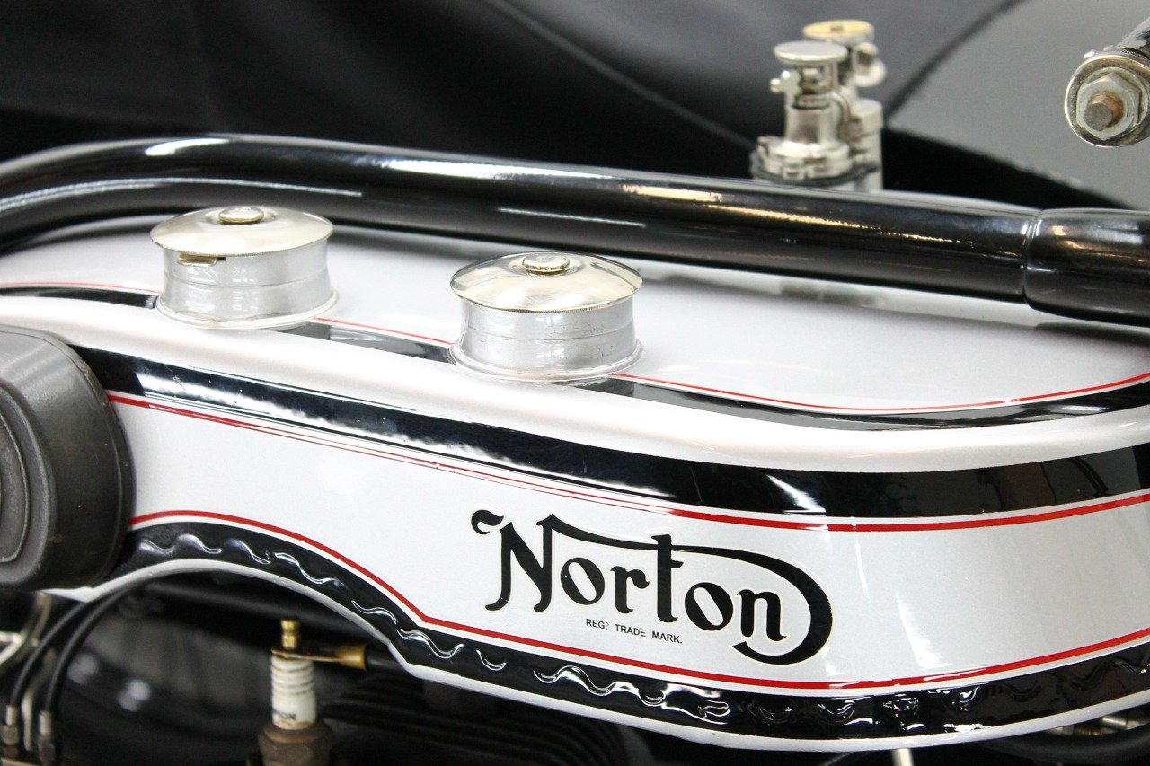Norton Big Four Combination 1925 633cc 1 cyl sv For Sale (picture 6 of 6)