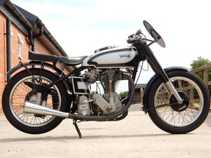 NORTON INTERNATIONAL CLUBMAN 500 1952 RACED AT MANX TT IN 19 For Sale