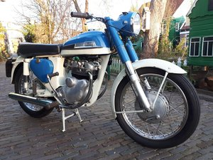 1961 Norton Navigator 350cc-Matching numbers-Very good