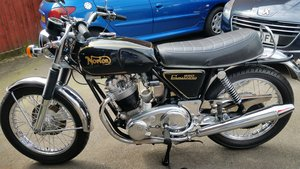 Norton Commando Roadster 850 1973 Restored