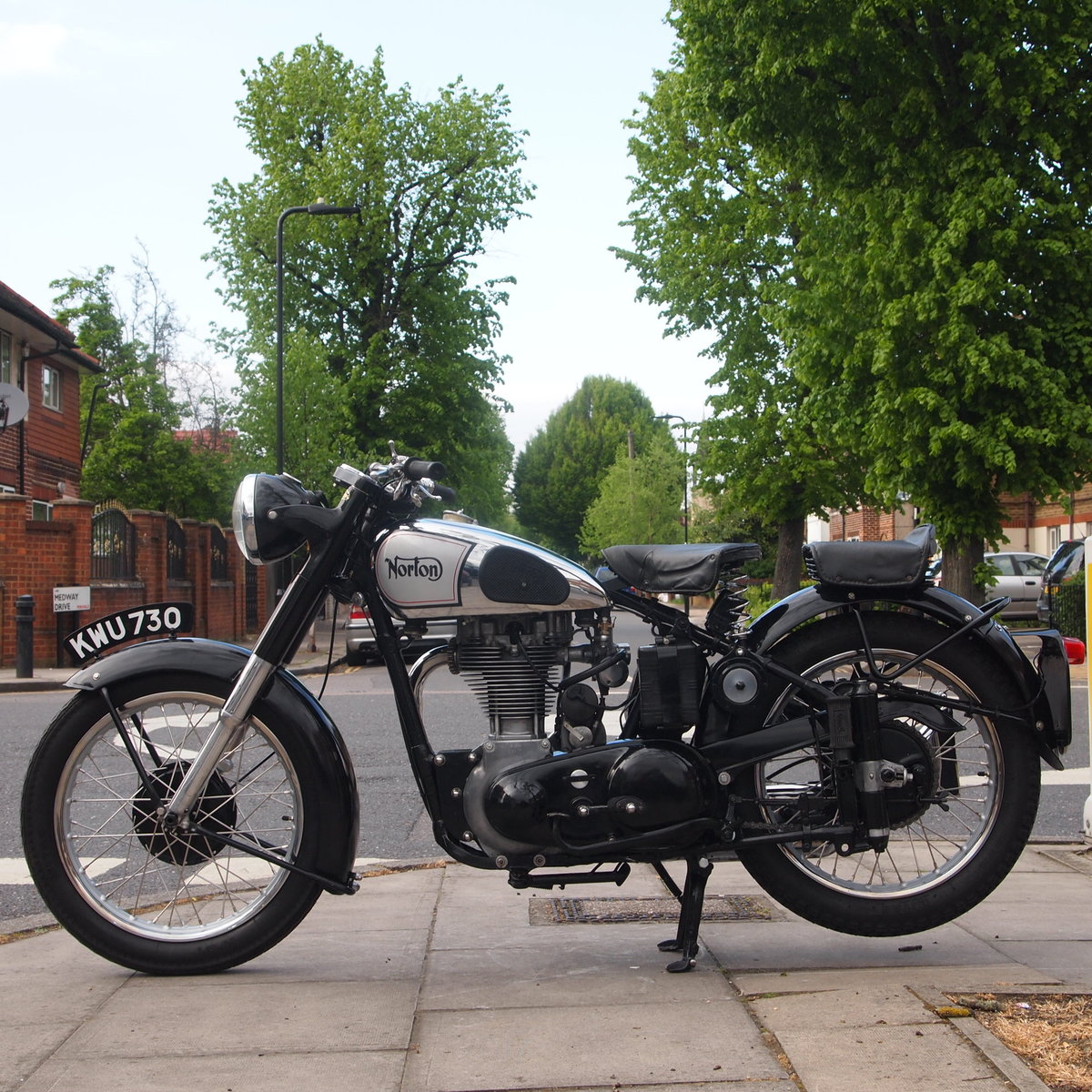 1951 Norton ES2 500 Classic, RESERVED FOR KEITH. SOLD (picture 5 of 6)
