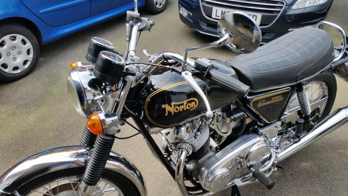 1973 Norton Commando Roadster 850 FANTASTIC! SOLD (picture 3 of 4)