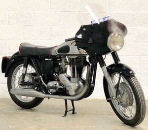 1961 Norton Model 50 350cc Featherbed Frame