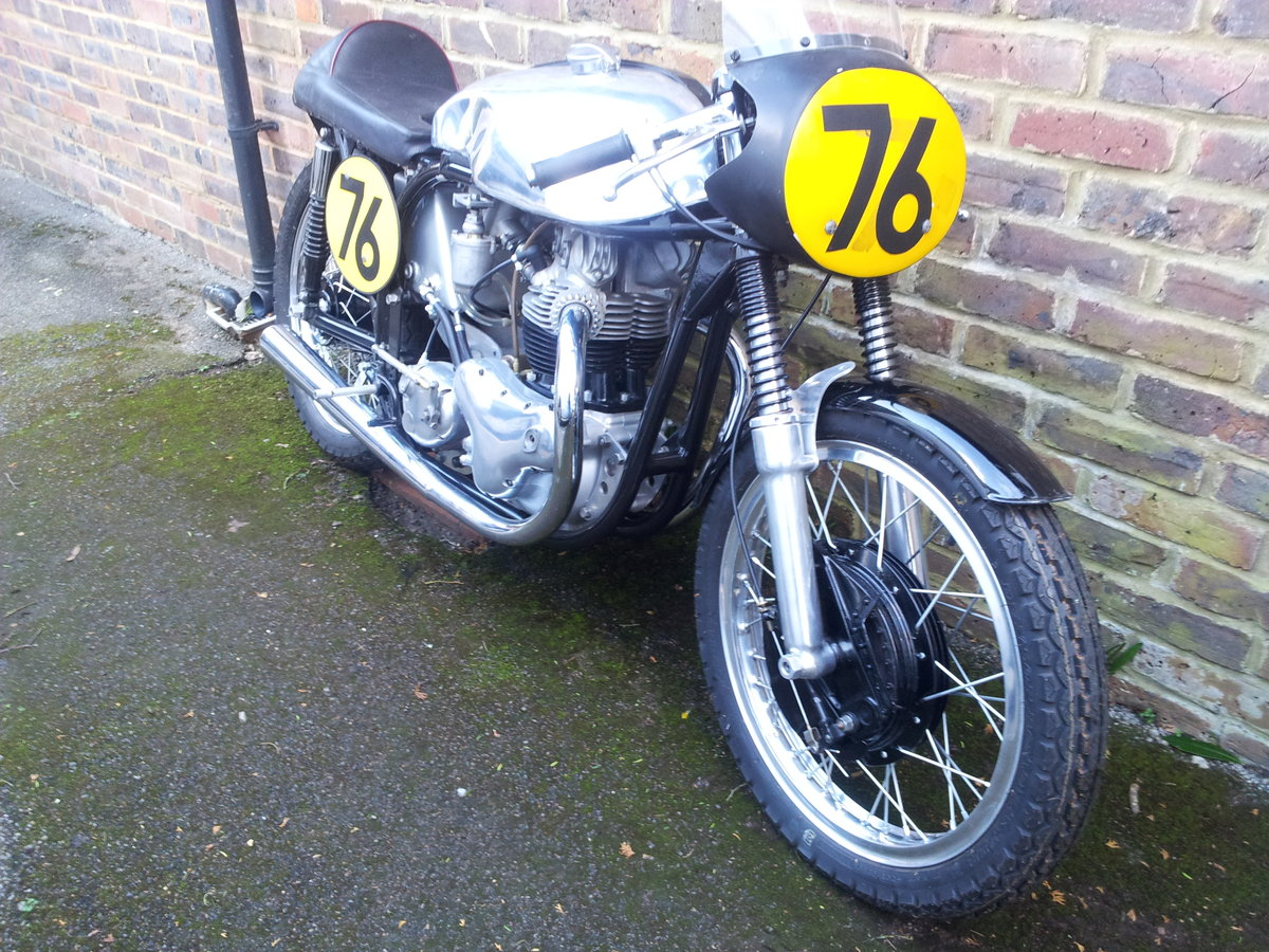 1962 Norton  Domiracer Ex Works and TT  For Sale (picture 2 of 4)