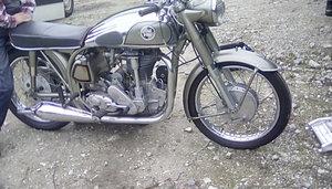1957 norton featherbed international