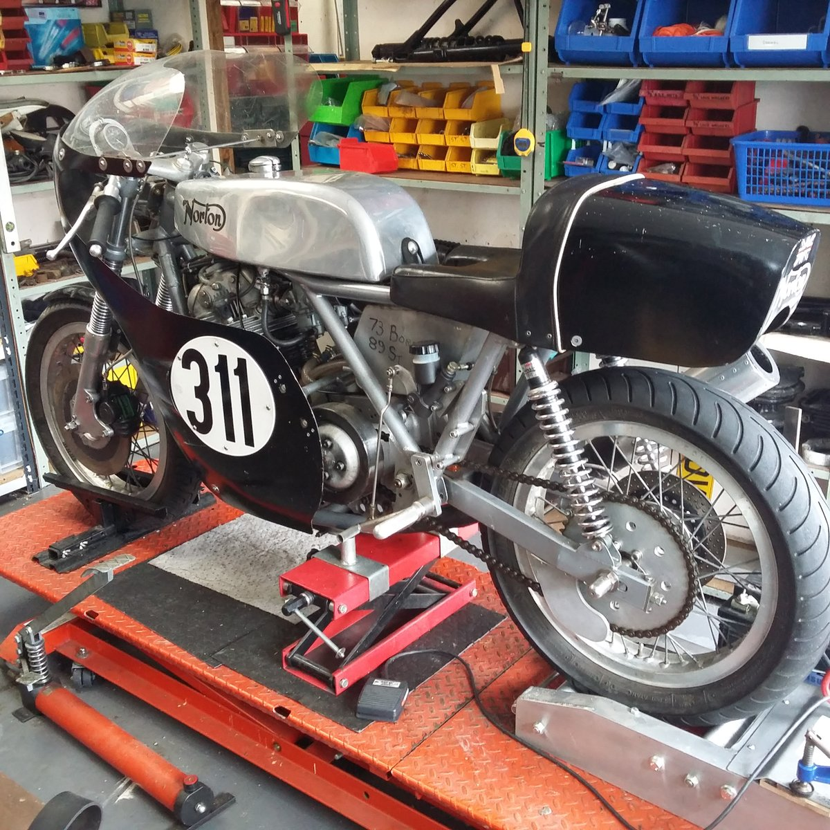 1972 Norton Commando Classic Racer For Sale (picture 1 of 6)
