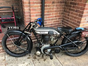 1926 Norton Model 16H For Sale