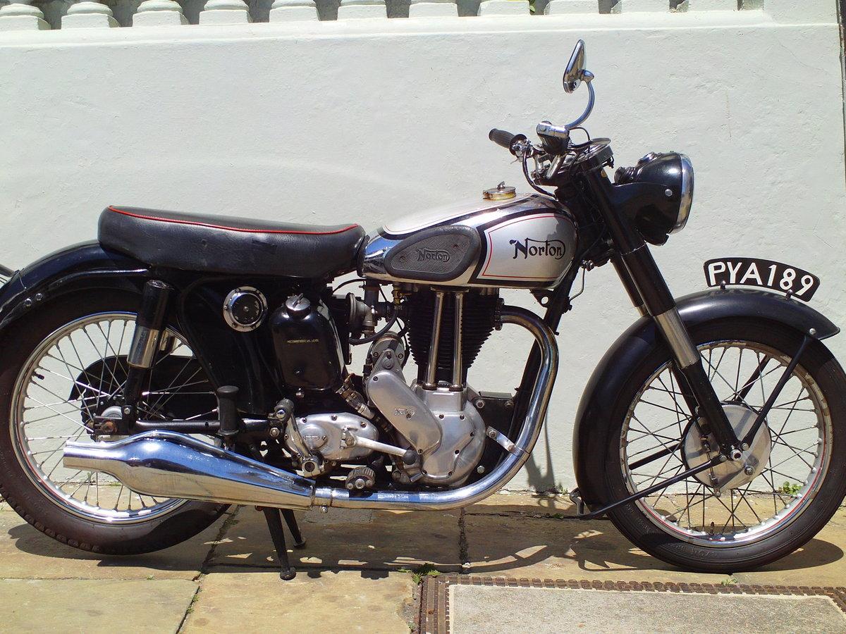 1953 NORTON ES2 500cc SOLD (picture 1 of 6)