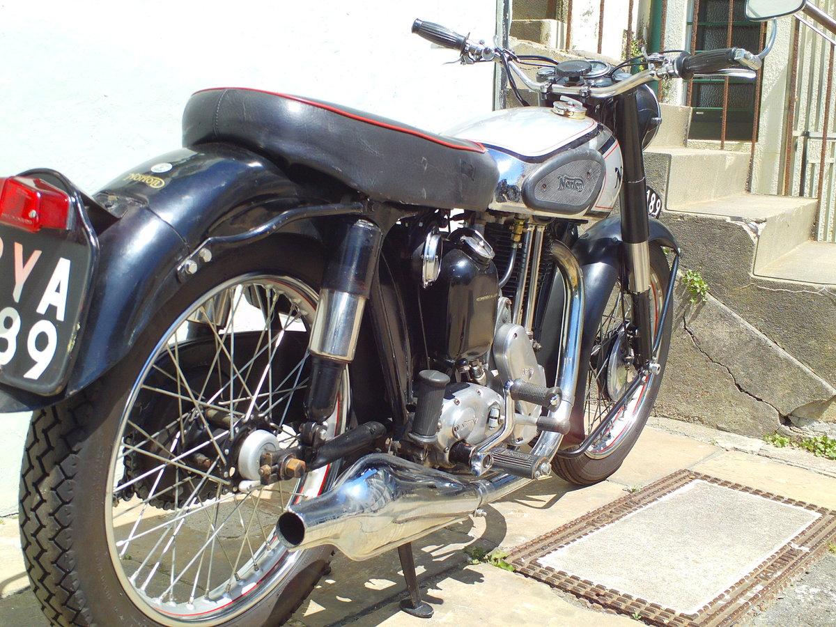 1953 NORTON ES2 500cc SOLD (picture 2 of 6)