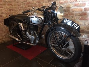 1943 Norton 16H fully restaured