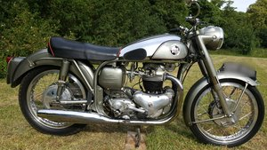 Norton 99 Dominator 600 Wideline Featherbed 1956