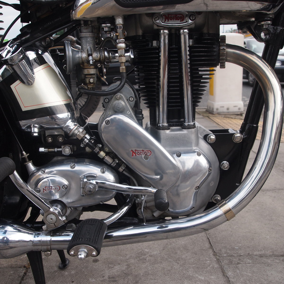 1950 Extremely Original Norton ES2 500, Must See. For Sale (picture 3 of 6)