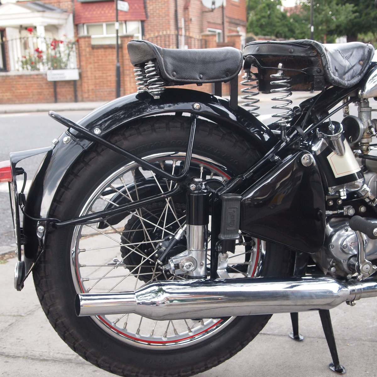 1950 Extremely Original Norton ES2 500, Must See. For Sale (picture 5 of 6)