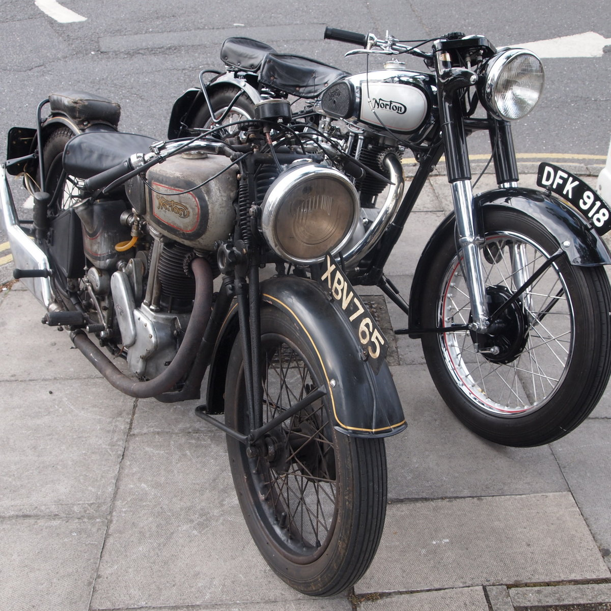 1950 Extremely Original Norton ES2 500, Must See. For Sale (picture 6 of 6)