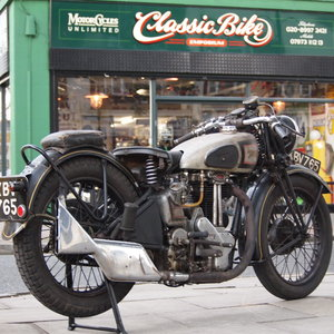 1946 499cc Model 18 Norton, RESERVED FO TAFF. SOLD