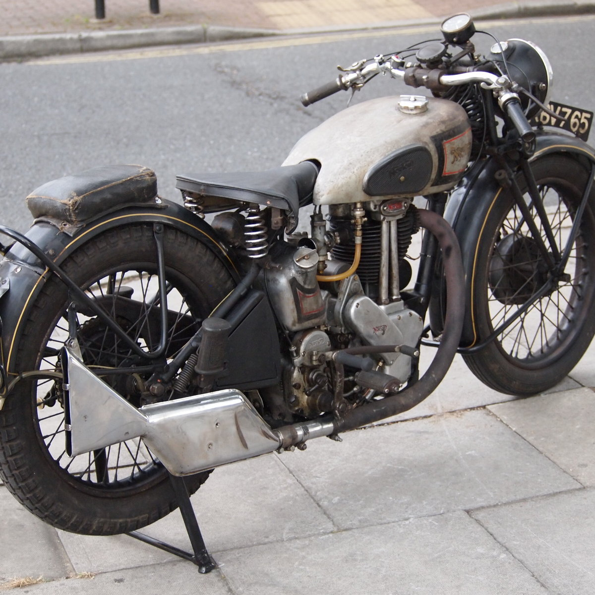 1946 499cc Model 18 Norton, RESERVED FO TAFF. SOLD (picture 3 of 6)