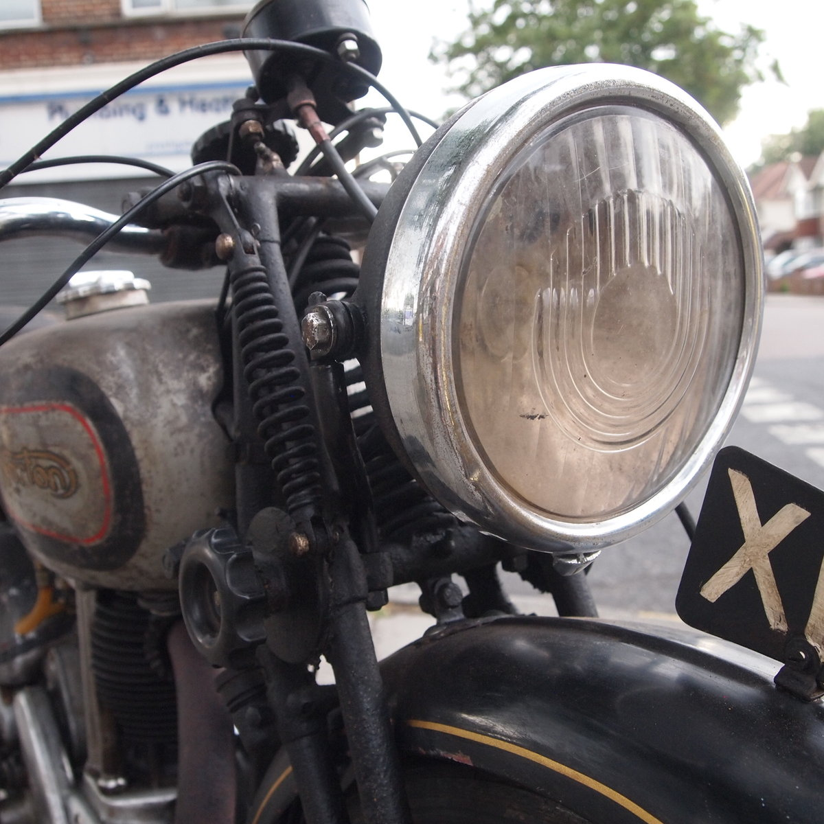 1946 499cc Model 18 Norton, RESERVED FO TAFF. SOLD (picture 4 of 6)