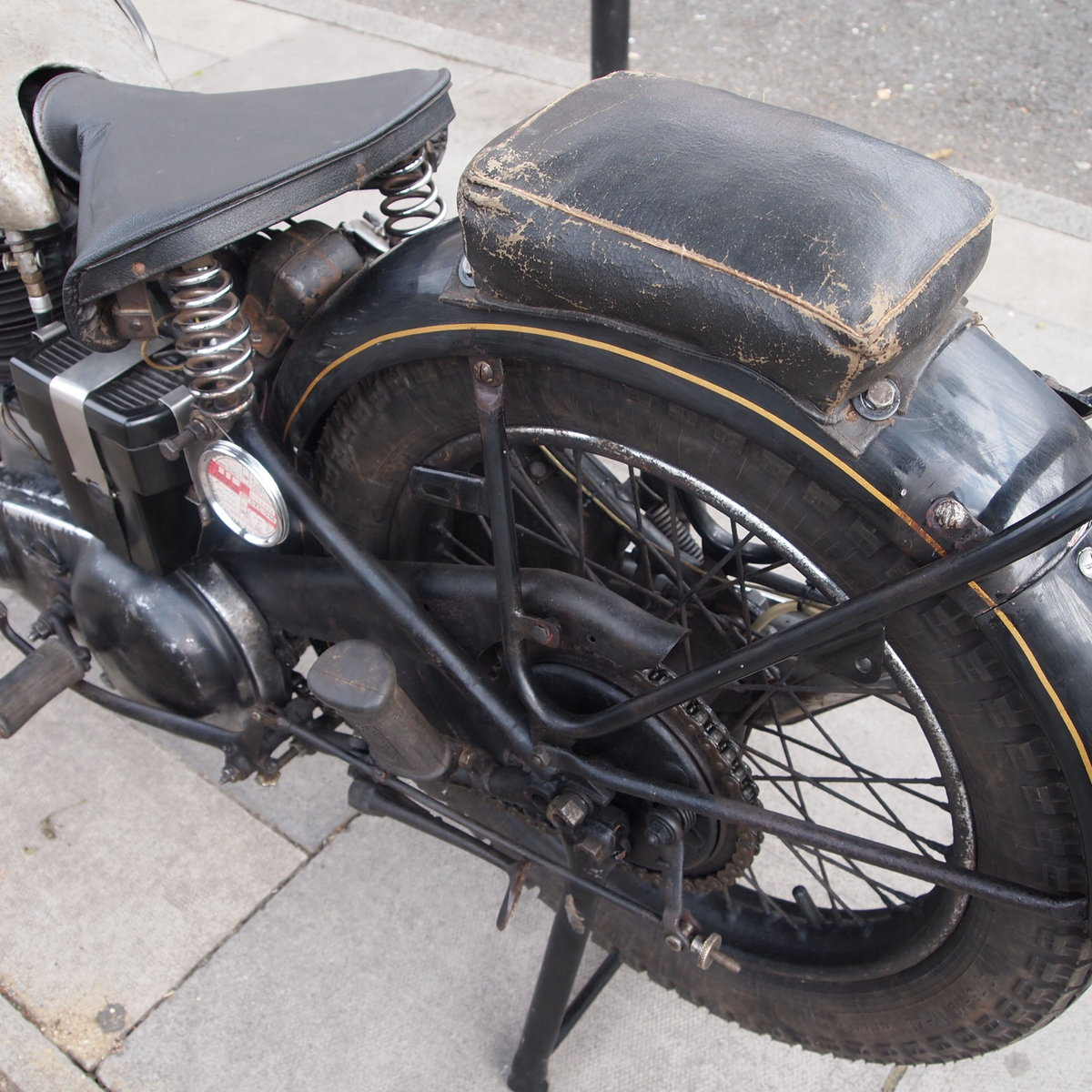 1946 499cc Model 18 Norton, RESERVED FO TAFF. SOLD (picture 5 of 6)