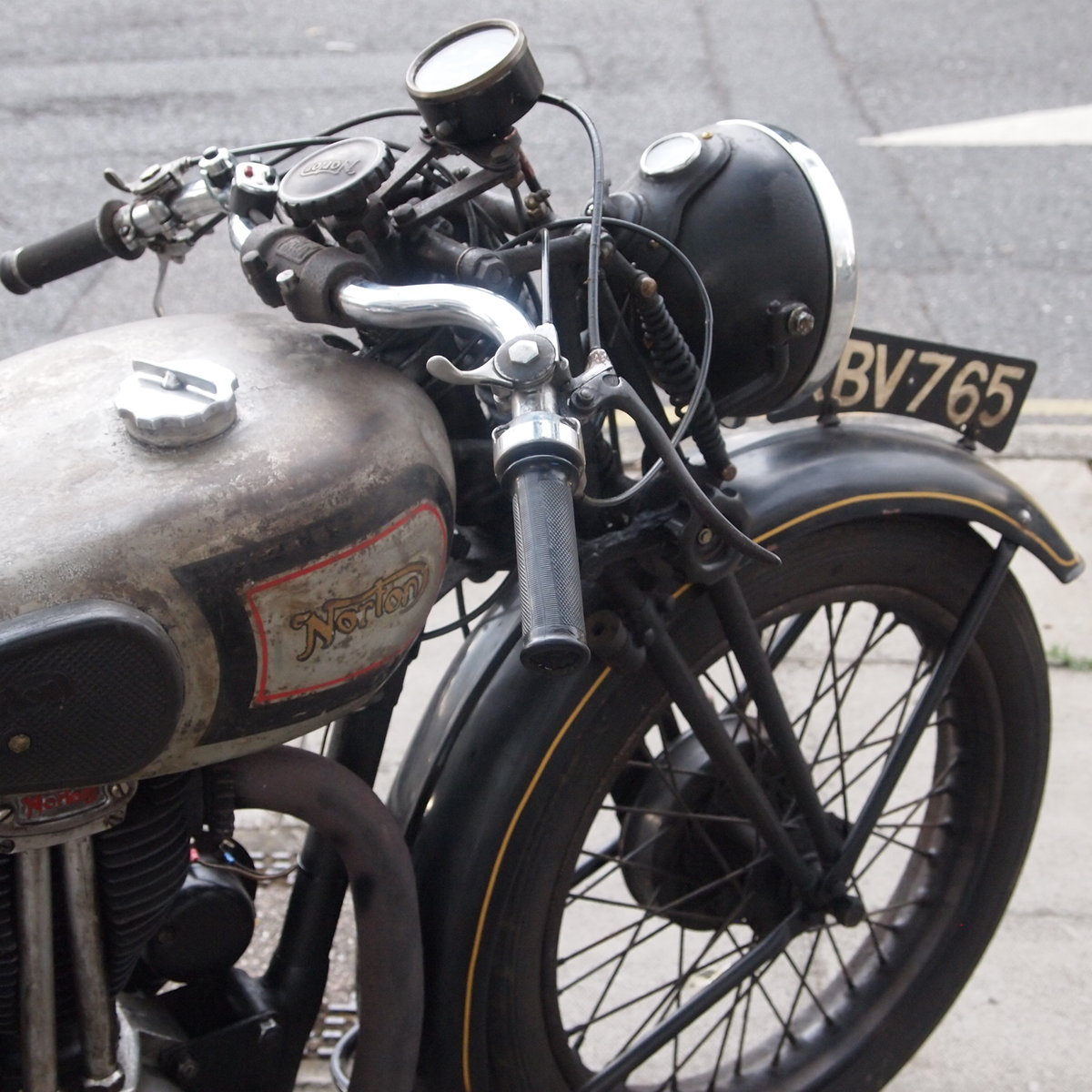 1946 499cc Model 18 Norton, RESERVED FO TAFF. SOLD (picture 6 of 6)