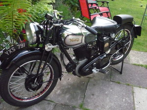 1936 norton model 19 - 600 cc ohv girder rigid