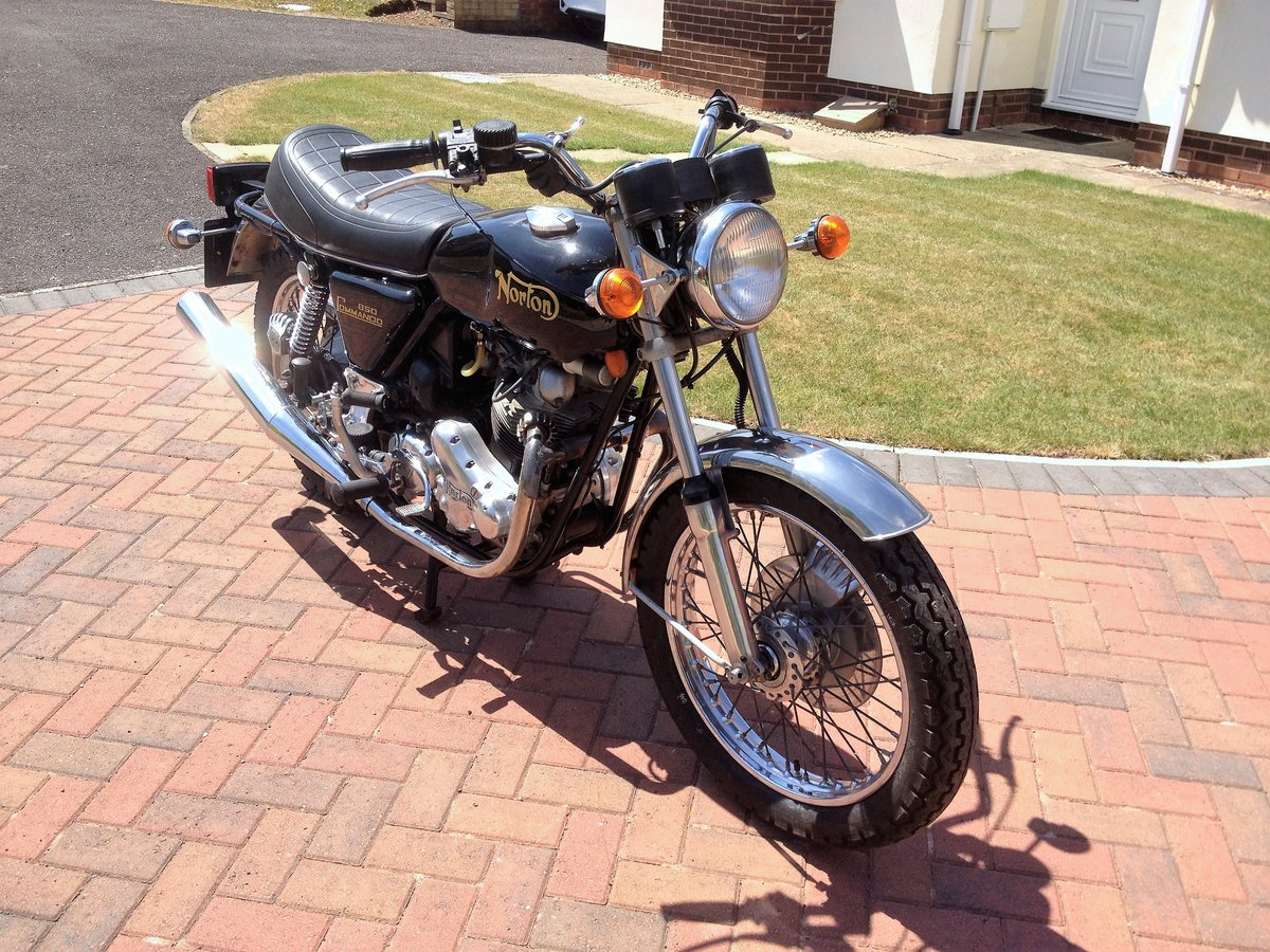1976 Norton Commando Mk3 SOLD (picture 6 of 6)