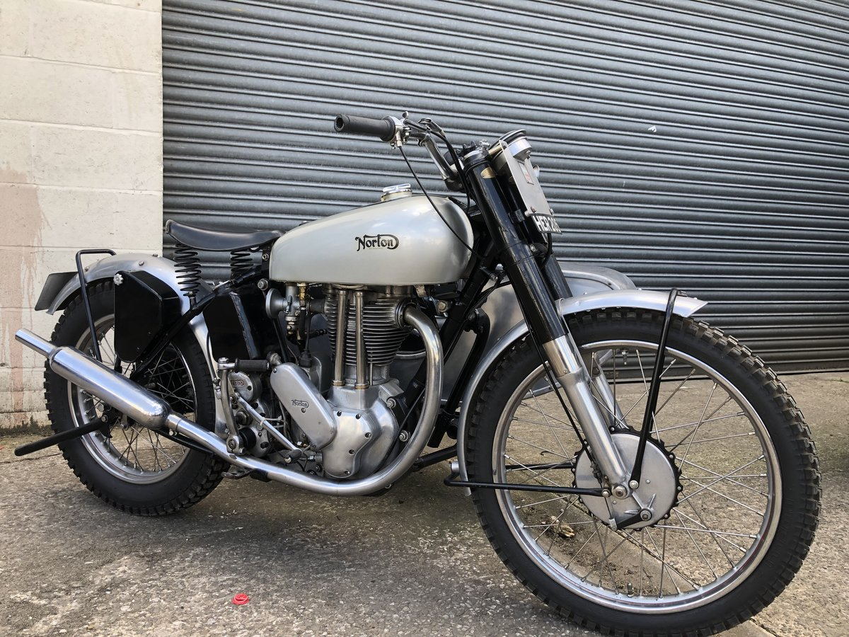 1951 NORTON 500T 500 T TRIALS COMBINATION CANTERBURY SIDE CAR For Sale (picture 2 of 6)