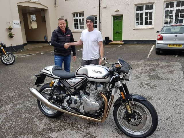 2018 Norton 961 50th Anniversary Cafe Racer For Sale (picture 1 of 1)