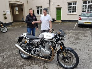 2018 Norton 961 50th Anniversary Cafe Racer