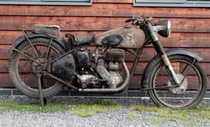 1951 Norton big 4 600cc barn find