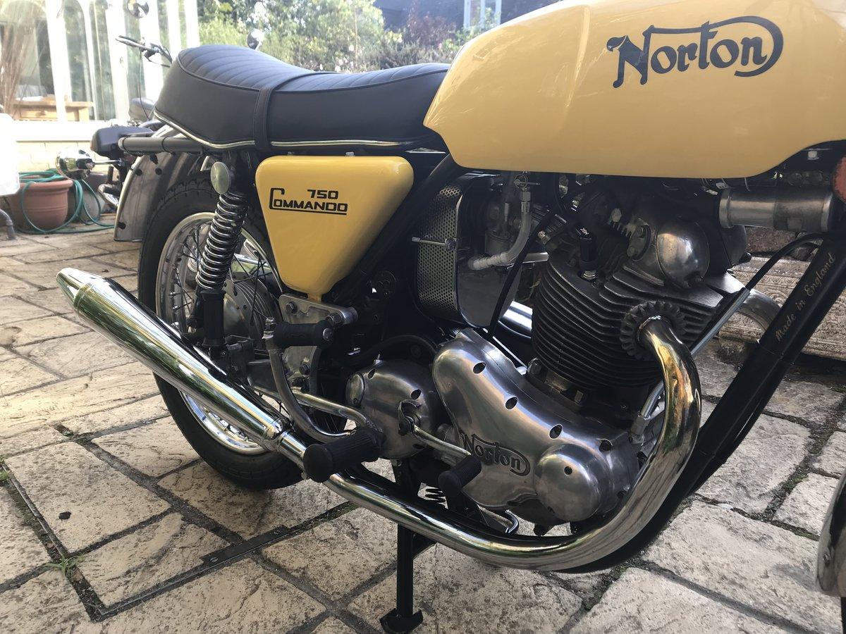 1971 Norton Commando 750 Roadster For Sale (picture 6 of 6)