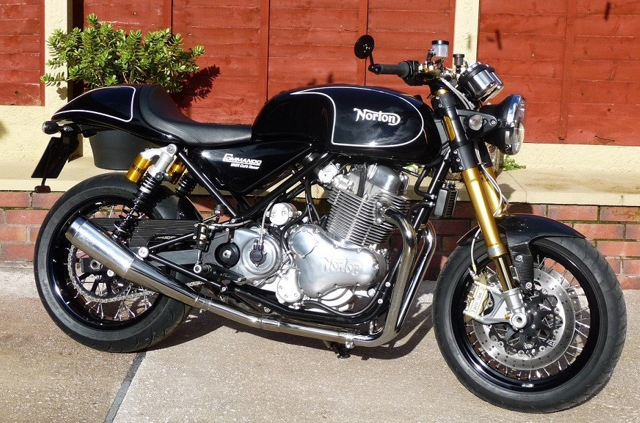 2012 Norton 961 cafe racer / sf For Sale (picture 2 of 6)