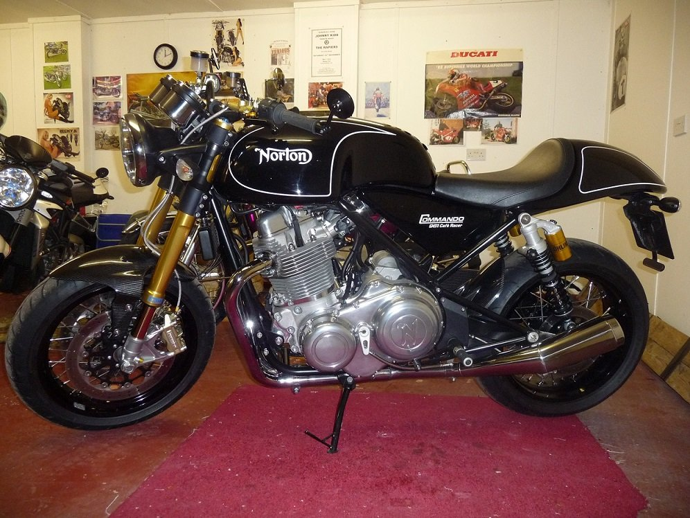 2012 Norton 961 cafe racer / sf For Sale (picture 3 of 6)