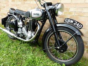 1948 Norton ES2, 490 cc.