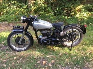1955 Norton Model 18 motorcycle