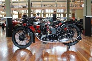 1934 NORTON MODEL 19 600cc MOTORCYCLE