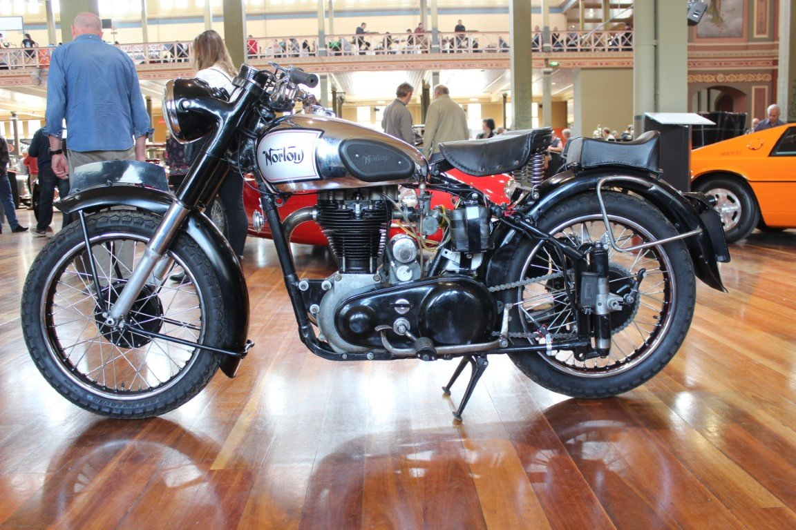 1949/50 NORTON ES2 490cc MOTORCYCLE For Sale by Auction (picture 1 of 4)