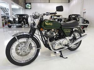 1972 Norton Commando 750 - British Racing Green Metallic